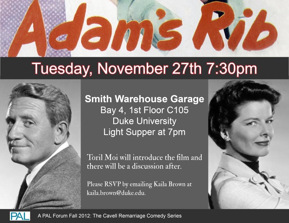Adams Rib Forum