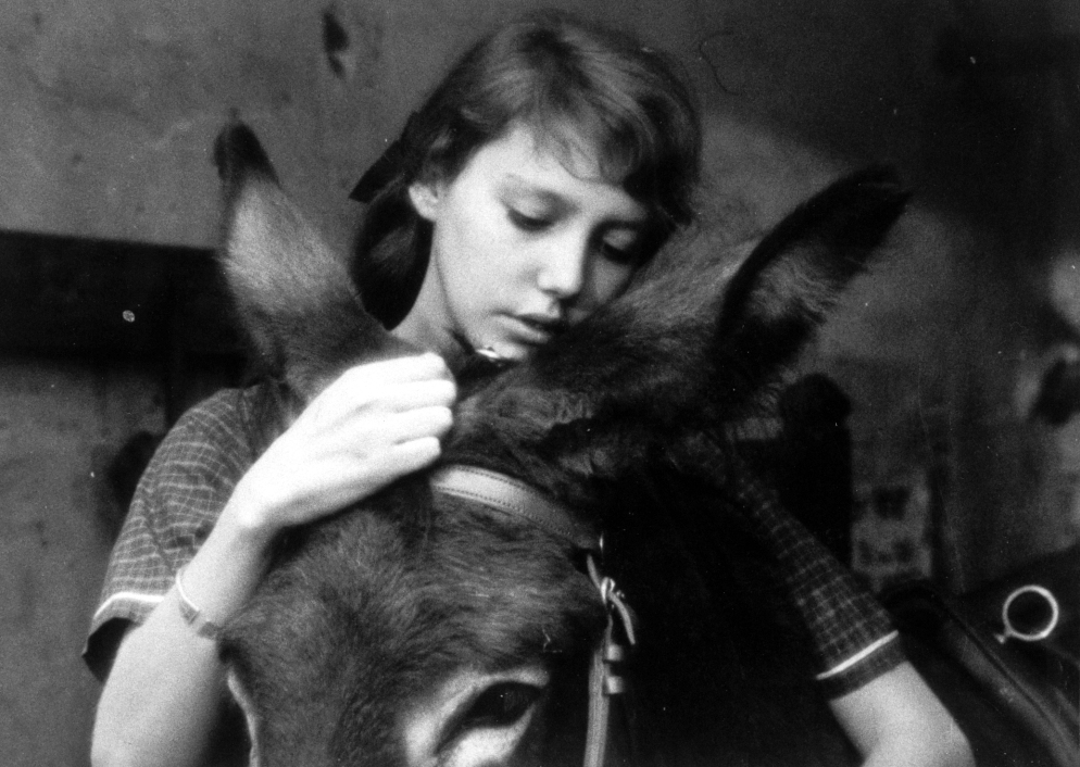 Anne Wiazemsky as Marie in Robert BressonÕs AU HASARD BALTHAZAR