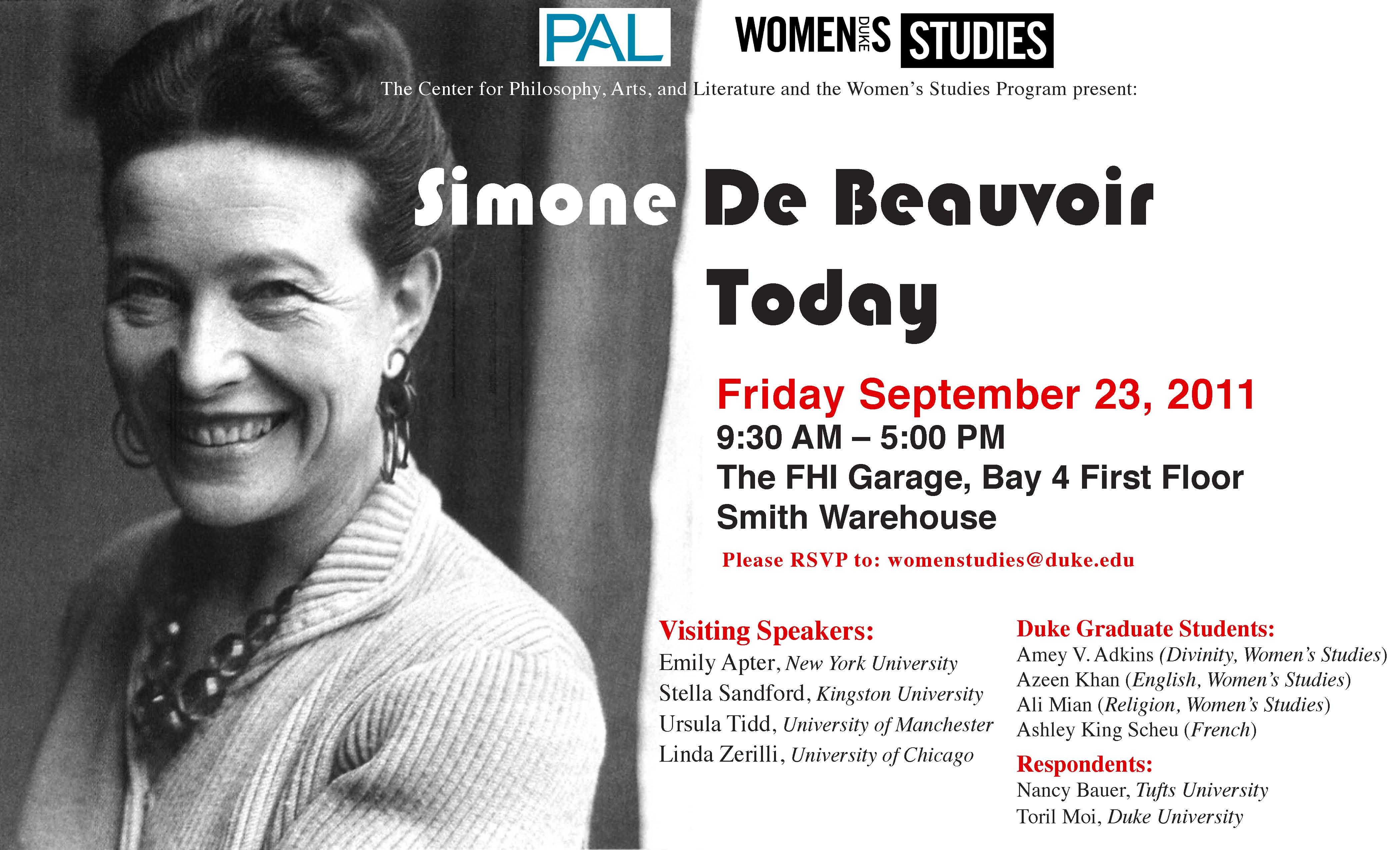 itunes simone beauvoir today