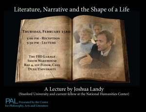 Josh Landy Lecture