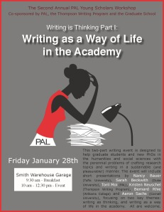 writing is thinking poster
