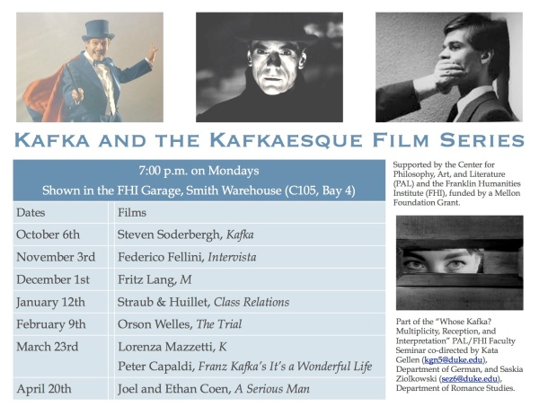 Kafka and the Kafkaesque film series