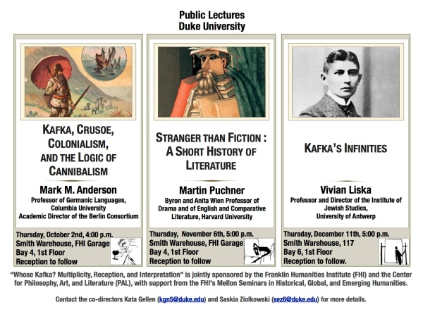 Whose Kafka Fall Lectures
