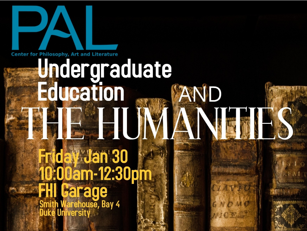 Undergraduate Education and the Humanities land