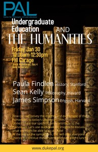 Undergraduate Education and the Humanities