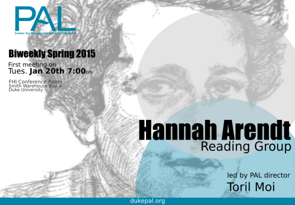 Arendt Reading group Land