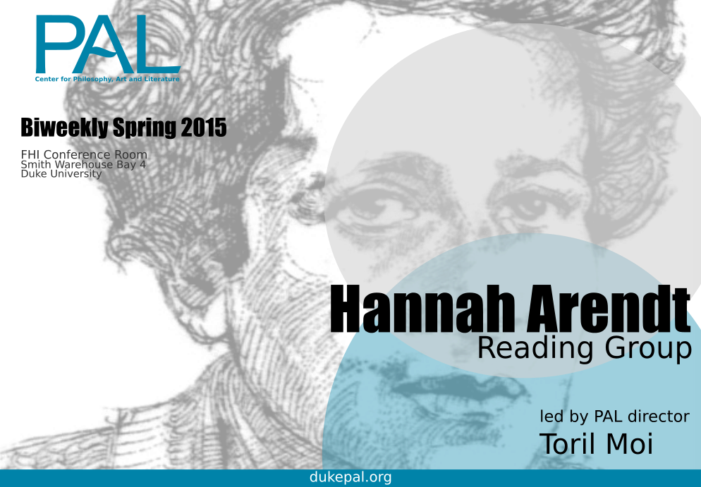 Arendt Reading group Land2