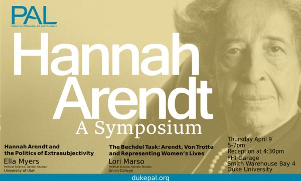 Hanna Arendt Symposium Land